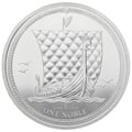 2018 Silver 1oz Isle of Man Noble Proof Coin