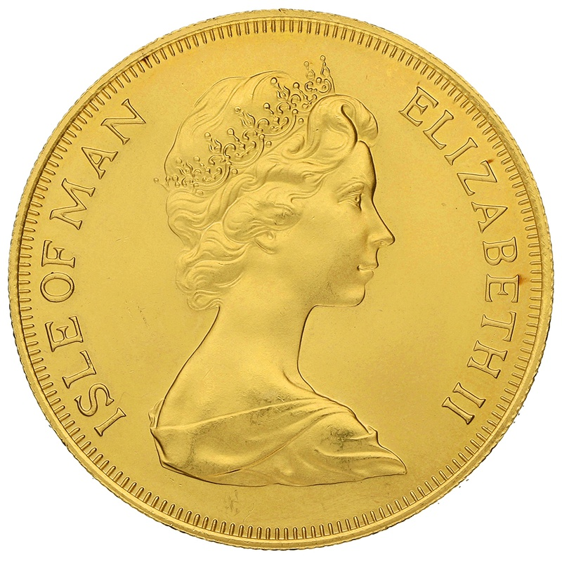 1979 - Gold £5 Coin (Quintuple Sovereign) Isle of Man