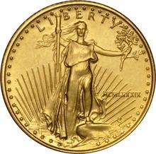 1989 Tenth Ounce Eagle Gold Coin MCMLXXXIX