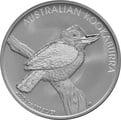2010 1oz Silver Kookaburra