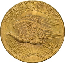 American Saint Gaudens Head Gold Double Eagle $20