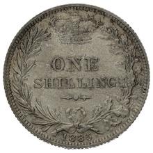 1885 Victoria Silver Shilling