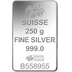 PAMP 250 Gram Silver Bar Minted