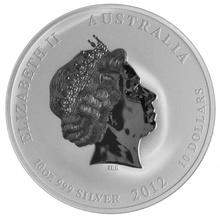 10oz Silver Australian Year of the Dragon