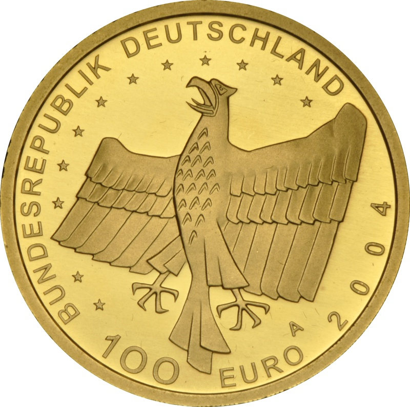 100 Euro 1/2oz German Gold Proof Coin