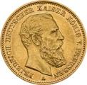20 Mark German - Friedrich III 1888