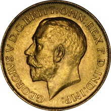 1911 Gold Sovereign - King George V - Canada