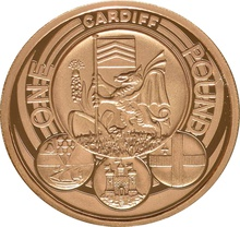 £1 One Pound Proof Gold Coin - Capital Cities -2011 Cardiff