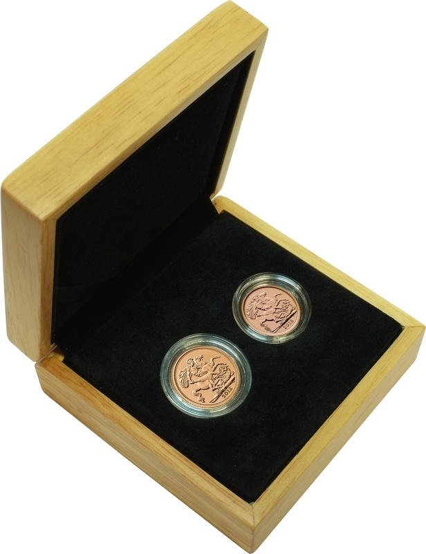 2018 Sovereign and Half Sovereign Gift Boxed