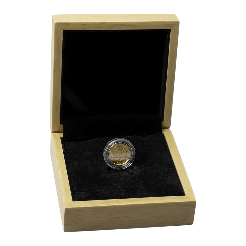 2021 Tenth Ounce Austrian Gold Philharmonic Coin Gift Boxed