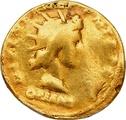Hadrian Aureus Gold Coin