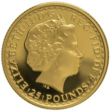 2004 Quarter Ounce Proof Britannia Gold Coin