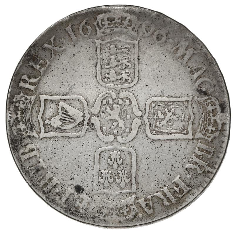 1679 Charles II Silver Crown