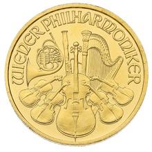 2009 Tenth Ounce Gold Austrian Philharmonic