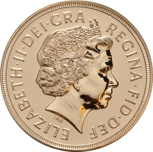2007 - Gold £5 Brilliant Uncirculated Coin