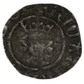 1377-99 Richard II Silver Halfpenny - Good Fine