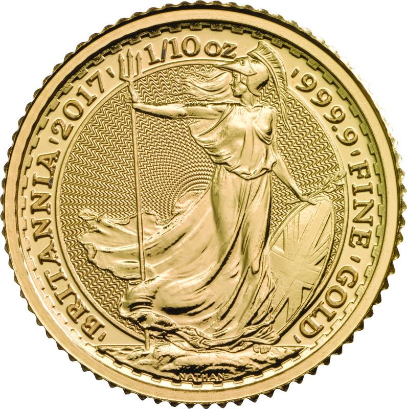 2017 Tenth Ounce Gold Britannia