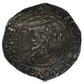 1645-6 Charles I Hammered Silver Halfgroat mm Sun