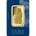 PAMP 50 Gram Gold Bar Minted