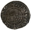 1504-9 Henry VII Hammered Silver Halfgroat York Arch - Bainbridge