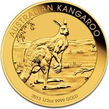 2013 Half Ounce Gold Australian Nugget