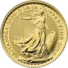 2020 Quarter Ounce Britannia Gold Coin