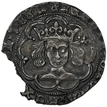 1445-54 Henry VI Silver Fourpence