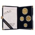 1996 Proof Gold Eagle 4-Coin Set Boxed