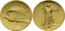 2009 Ultra High Relief Double Eagle Gold Coin Boxed