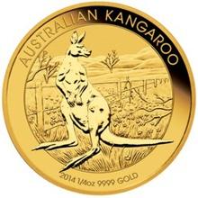2014 Quarter Ounce Gold Australian Nugget