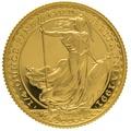 1991 Quarter Ounce Proof Britannia Gold Coin