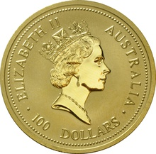 1998 1oz Gold Australian Nugget