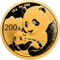 2019 15g Gold Chinese Panda Coin