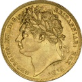 George IV Laureate Head 1821-1825