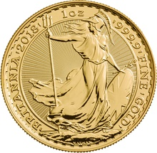 2018 Britannia One Ounce Gold Coin