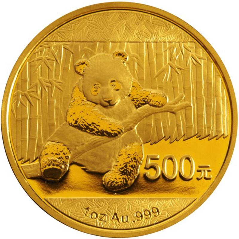 2014 1oz Gold Chinese Panda Coin