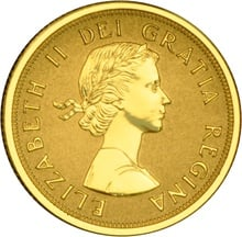 2014 $10 Pure Gold Coin Maple Leaves 1/4oz Boxed