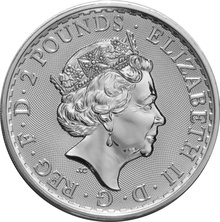 2017 1oz Britannia 20th Anniversary Silver Coin Gift Boxed