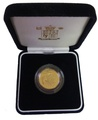 Gold Proof 2005 Half Sovereign Boxed