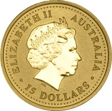 2005 Perth Mint Tenth Ounce Year of the Rooster Gold Coin