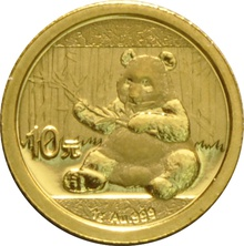 1 Gram Gold Chinese Panda Coin Best Value