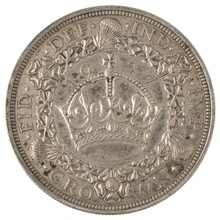 1927 George V Proof Crown (Christmas Crown) - Extremely Fine