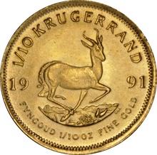 1991 Tenth Ounce Krugerrand