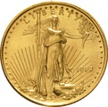 1999 Tenth Ounce Eagle Gold Coin