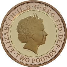 2005 £2 Two Pound Proof Gold Coin 400th Ann. Gunpowder Plot