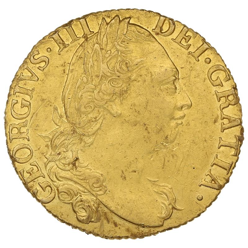 1784 George III Gold Guinea