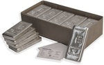 25 x 1kg Silver Metalor Bars