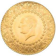 Turkish 500 Kurush Gold Coin