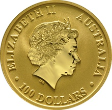 2017 1oz Gold Australian Nugget