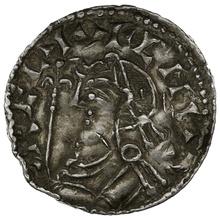 1035-1042 Harthacnut Hammered Silver Penny Thetford Tidread